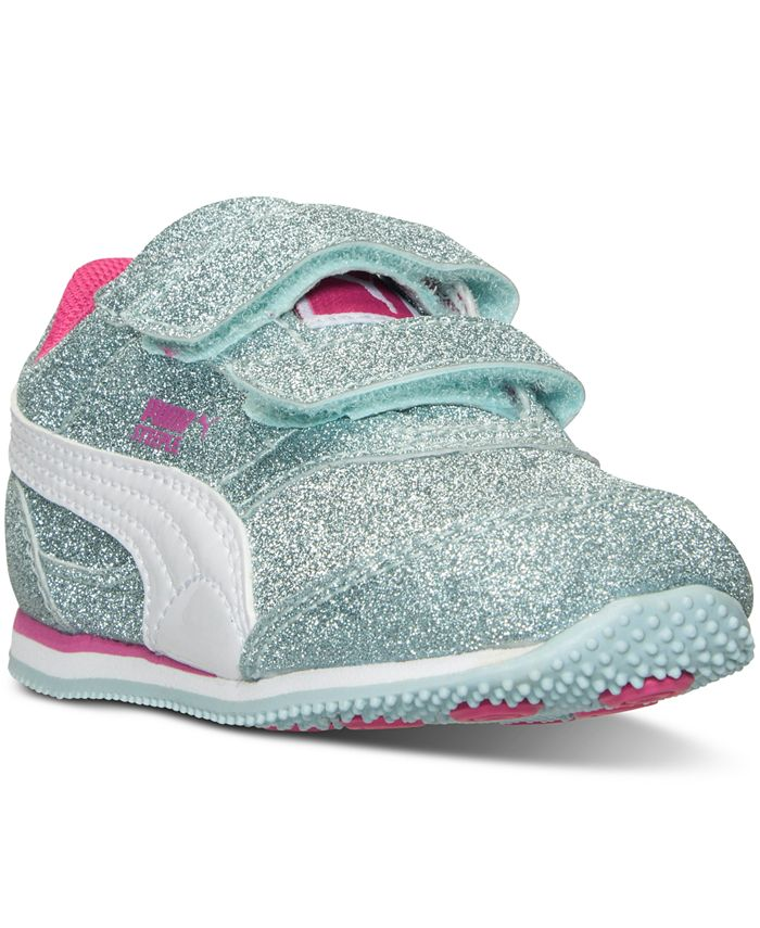 Puma - Toddler Girls' Steeple Glitz Casual Sneakers from Finish Line