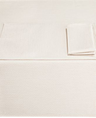 "Colorwave Cream Collection 60"" x 84"" Tablecloth"