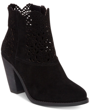 Jessica Simpson Cachelle Cutout Booties Women's Shoes