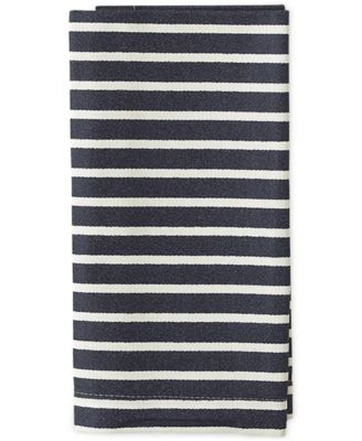 kate spade new york Harbour Drive Navy Napkin