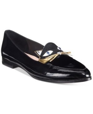 Kate Spade New York Cecilia Cat-Detail Loafers Women's Shoes