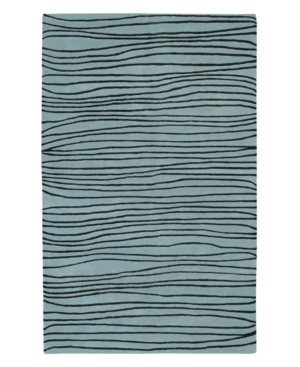 Surya Area Rug, Artist Studio ART-99 Blue 8' Round