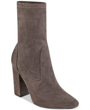 Ivanka Trump Lynna Block-Heel Booties Women's Shoes