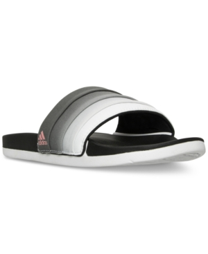 adidas Women's Adilette Cloud Foam Armad Slide Sandals from Finish Line