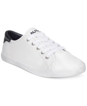 Nautica Women's Lanyard Lace Up Sneakers Women's Shoes