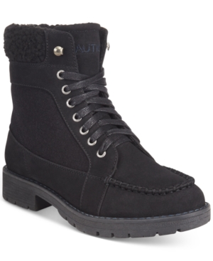 Nautica Thunder Bay Cold Weather Lace-Up Boots Women's Shoes
