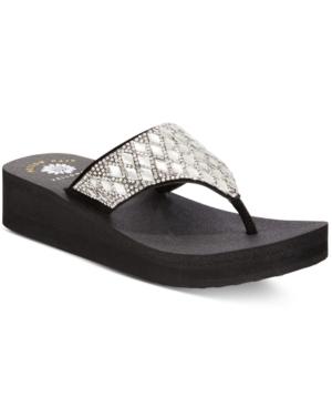 Yellow Box Pure Platform Wedge Flip-Flops Women's Shoes
