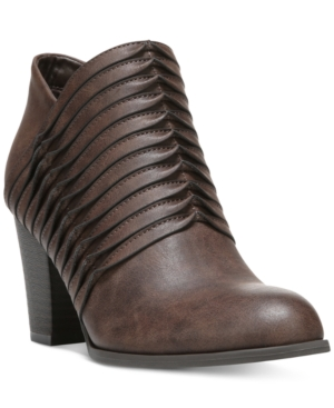 Fergalicious Calhoun Detailed Ankle Booties Women's Shoes