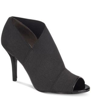 Adrianna Papell Aneva Peep-Toe Evening Shooties Women's Shoes