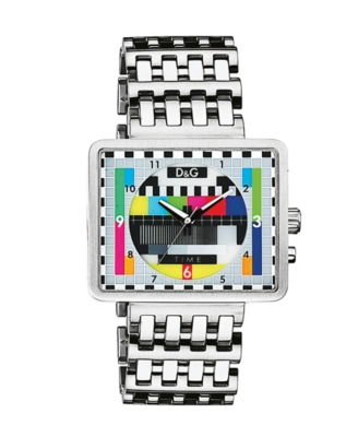 D&G Watch, Men's Medicine Man Stainless Steel Bracelet DW0197