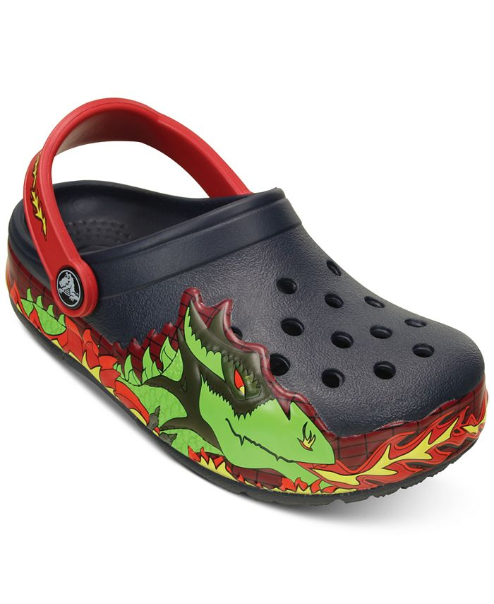 Crocs - Lights Dragon Clogs, Toddler Boys (2T-5T) & Little Boys (2-7)