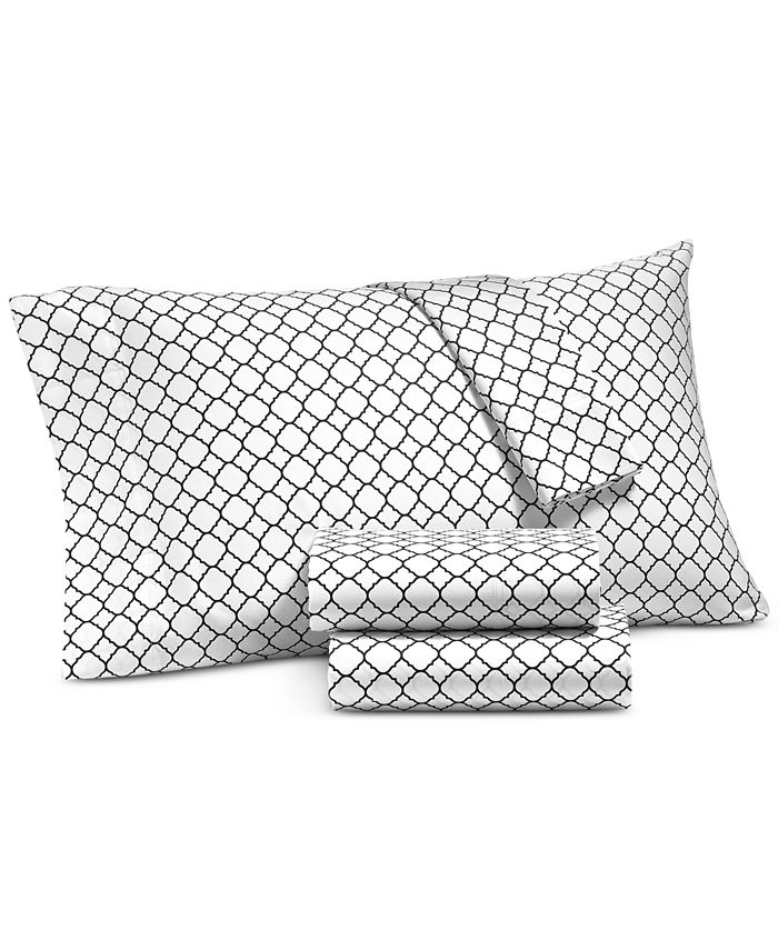 Charter Club - Damask Designs 500 Thread Count Printed Wrinkle-Resistant Standard Pillowcase Pair