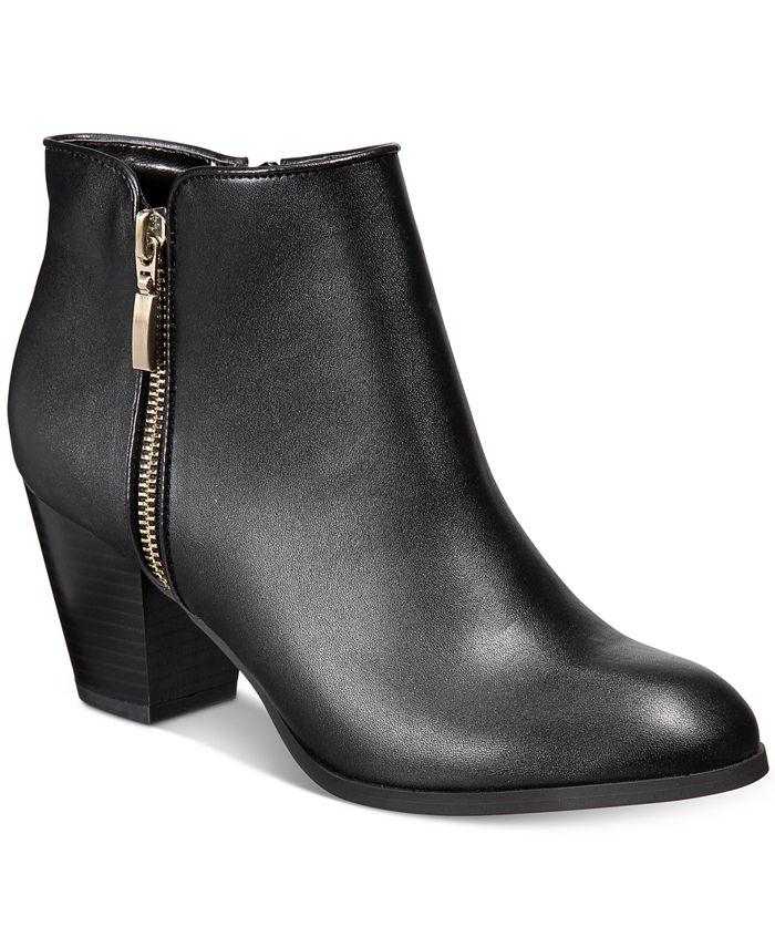 Style & Co - Jamila Zip Booties