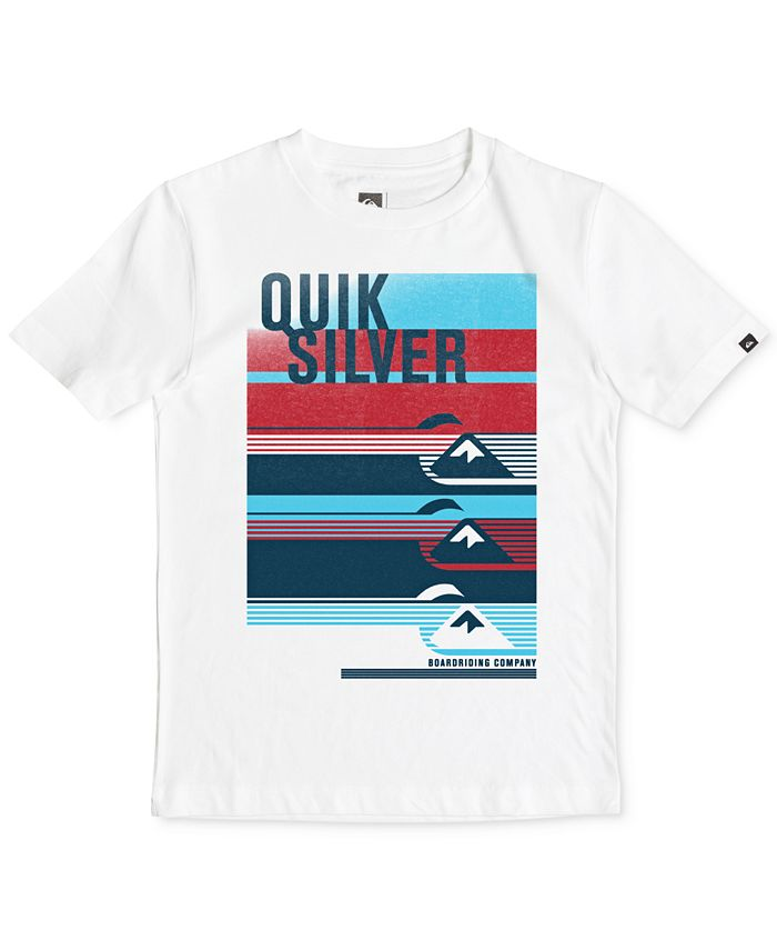 Quiksilver - Graphic-Print T-Shirt, Big Boys (8-20)
