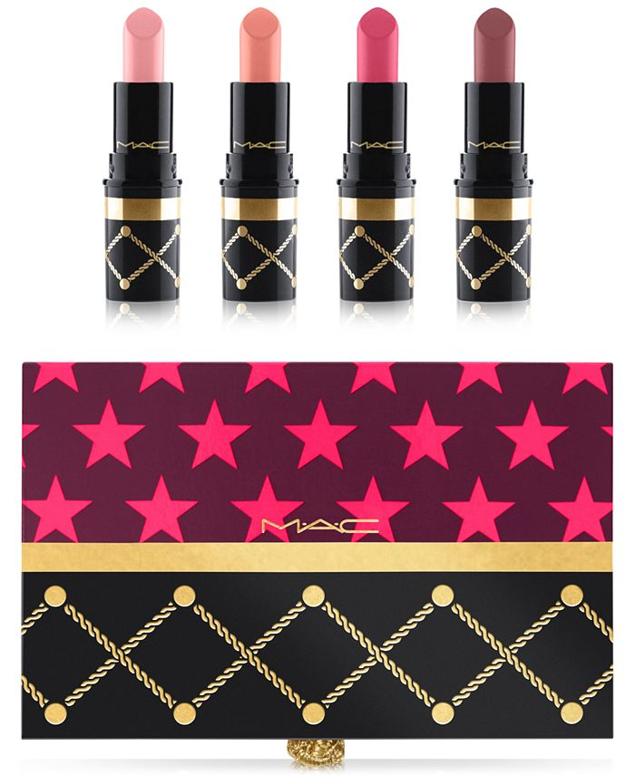 MAC - 4-Pc. Nutcracker Sweet Nude Lipstick Set
