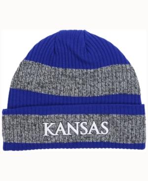 adidas Kansas Jayhawks Player Watch Knit Hat