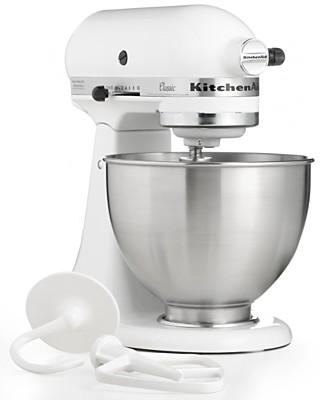 KitchenAid 4.5-Qt. Classic Stand Mixer - Customers' Top Rated Electrics - Kitchen - Macy's