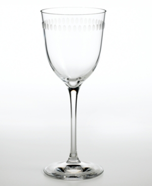 """Martha Stewart Collection with Wedgwood """"Ringlet"""" Wine Glass, 11 oz."""