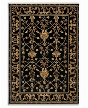 "Karastan Area Rug, English Manor William Morris Black 2' 9"" x 5'"