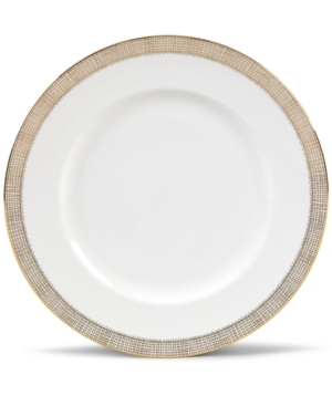 "Vera Wang Wedgwood ""Gilded Weave"" Dinner Plate, 10.75"""