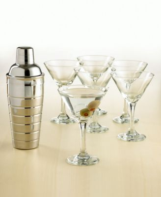 The Cellar 7-Piece Martini Set