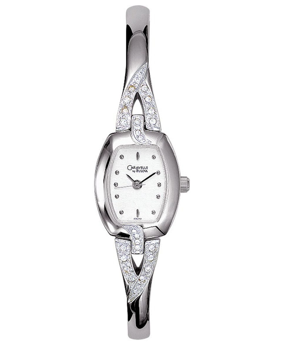 Caravelle New York by Bulova Watch, Womens Bangle Bracelet 43L62   Watches   Jewelry & Watches