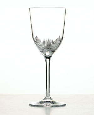 "Martha Stewart Collection with Wedgwood ""Sundew"" Goblet"