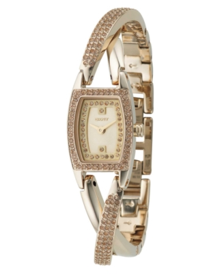DKNY Watch, Women's Goldtone Stainless Steel Bracelet NY4414
