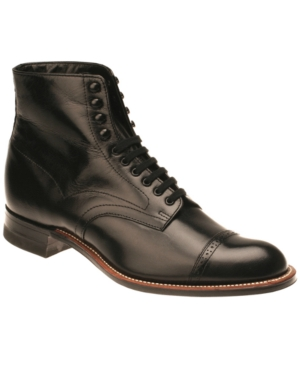 Stacy Adams Madison Boots Mens Shoes $129.98 AT vintagedancer.com
