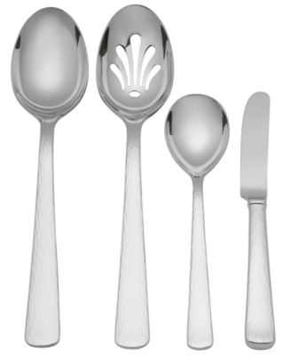 "Reed & Barton ""Silver Echo"" 4-Piece Hostess Set"