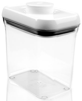 OXO Short Rectangular Pop Container, 1.5 Qt.