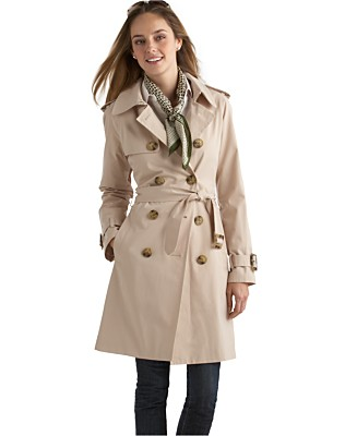 London Fog Double-Breasted Trench Coat - Women's - Macy's