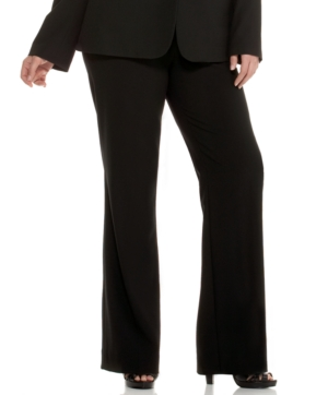Calvin Klein Plus Size Madison Straight-Leg Pants