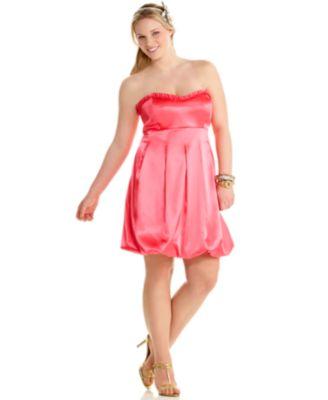 pink prom dresses - plus size prom dresses 8