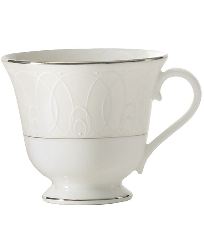 "Waterford - ""Ballet Icing Pearl"" Teacup"