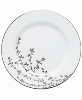 kate spade new york Gardner Street Platinum Appetizer Plate