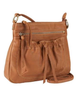 Fossil Handbag, Tie Front Mini Crossbody Bag
