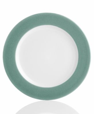"Noritake ""Colorwave Green Rim"" Dinner Plate"
