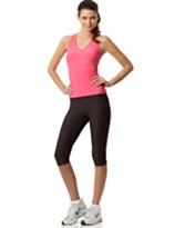 Nike Dedication  Sport Tank Top & Core Tech Capri Pants