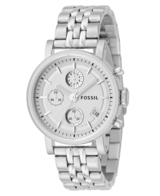 Sterling Chronograph Watch - Fossil