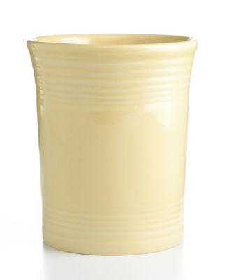 Fiesta Ivory Utensil Crock