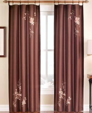 "chf peri window treatments, alessandra 44"" x 63"" panel bedding"