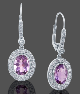 Dangling Gemstone Earrings - Le Vian