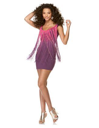 Rocawear Femme Fringe Dress