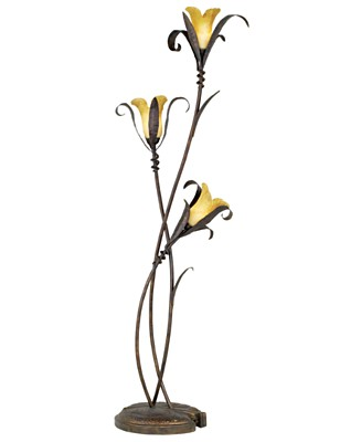 Pacific Coast Twisted Lilies Metal Floor Lamp - Floor Lamps Lighting & Lamps - for the home  - Macy's from macys.com