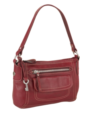 Fossil Handbag, Hanover Top Zip Bag