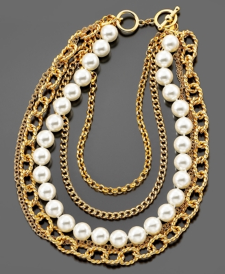 Layered Necklaces - Kenneth Jay Lane