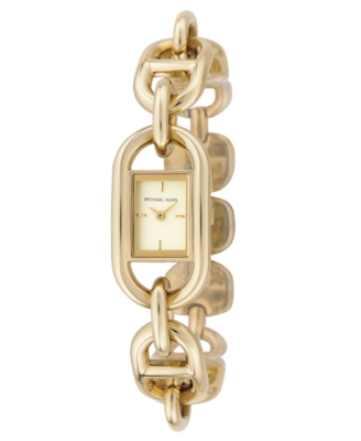 MICHAEL Michael Kors Watch, Women's Goldtone Stainless Steel Bracelet MK3116