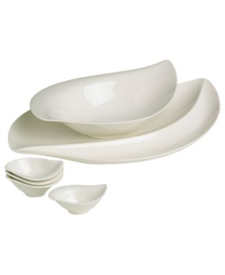 Villeroy & Boch Serveware, New Cottage 6 Piece Appetizer Set