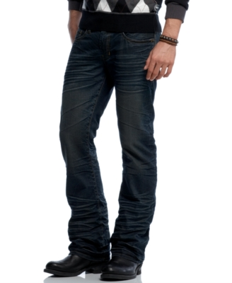 Buffalo Jeans Straight Leg Jeans, King Authentic Wrinkle Wash